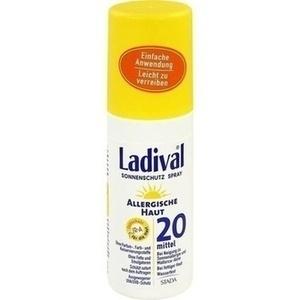 LADIVAL allergische Haut Spray LSF 20 150 ml Preisvergleich