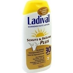 LADIVAL Schutz und Bräune Plus Lotion LSF 30 200 ml Preisvergleich