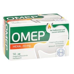 OMEP HEXAL 20 mg magensaftresistente Hartkapseln 14 St Preisvergleich