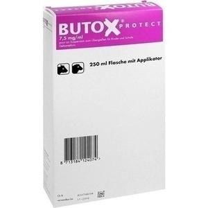 BUTOX Protect 7,5mg-ml pour on Sus.z.Überg.Ri+Sch. 250 ml Preisvergleich