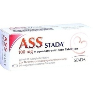 ASS STADA 100 mg magensaftresistente Tabletten Preisvergleich