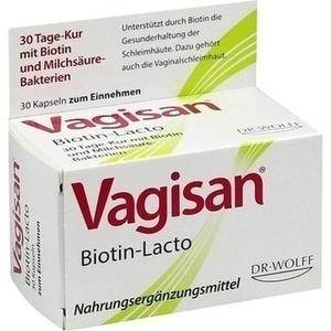 VAGISAN Biotin-Lacto Kapseln 30 St