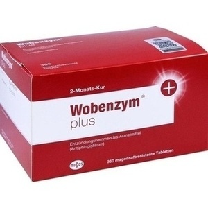 Wobenzym Plus Tabletten magensaftresistent Preisvergleich