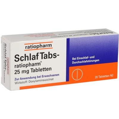 schlaf tabs ratiopharm 25mg tabletten beipackzettel. Black Bedroom Furniture Sets. Home Design Ideas