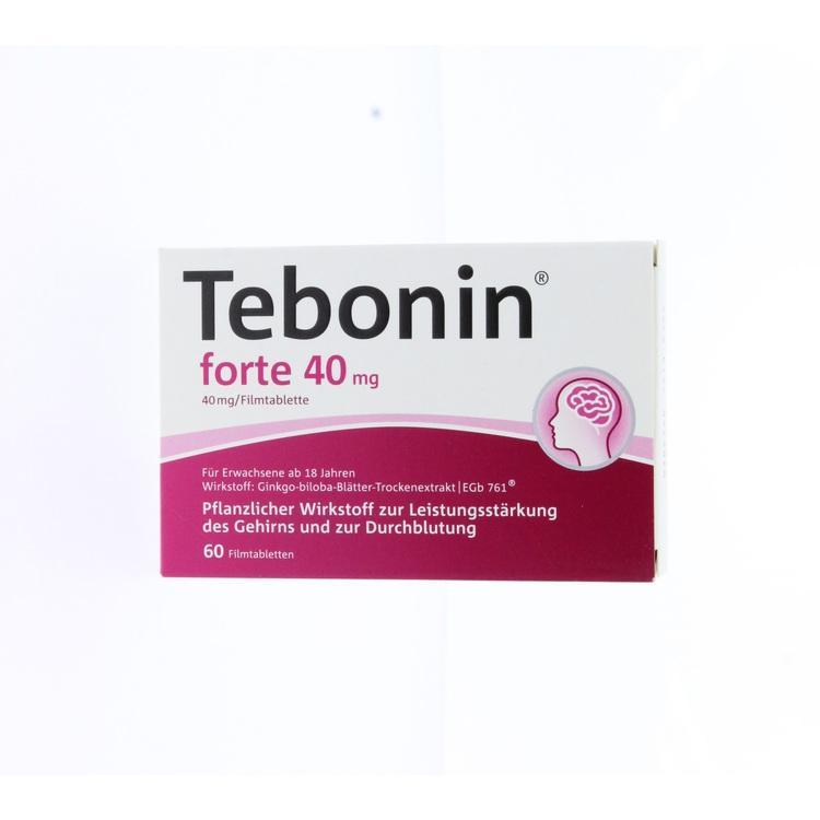 Zoom Tebonin Forte 40 Mg Filmtabletten