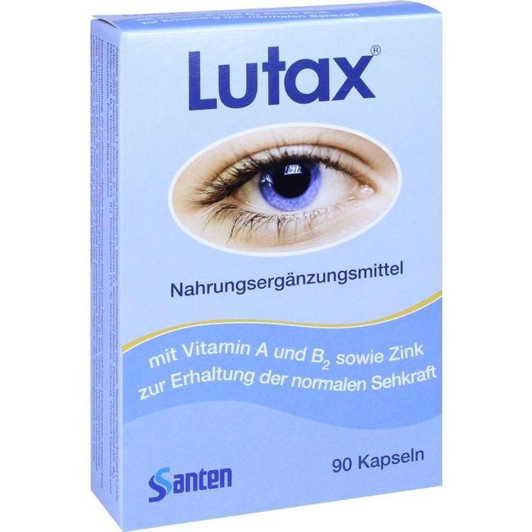 Zoom Lutax 10mg Lutein  Kapseln