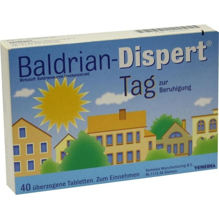 Zoom Baldrian Dispert Tag Zur Beruhigung  Tabletten