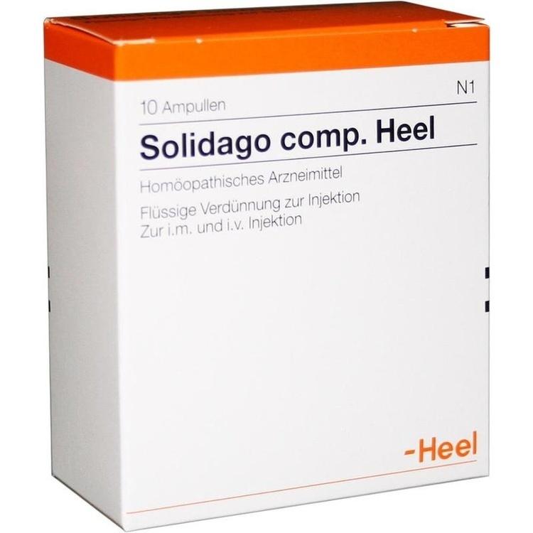 Zoom Solidago Comp. Heel  Ampullen