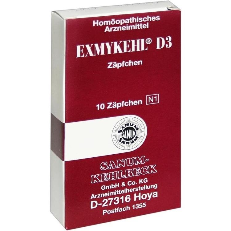 Zoom Exmykehl D 3  Zäpfchen