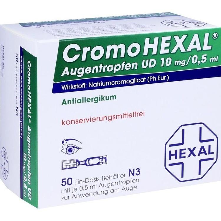 Zoom Cromohexal Augentropfen Ud