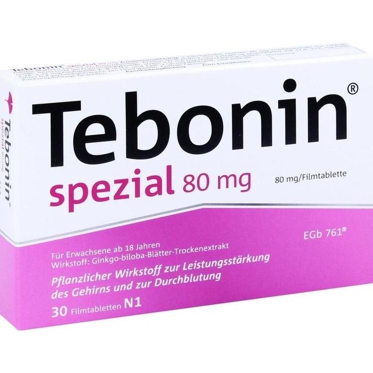 Zoom Tebonin Spezial 80mg  Filmtabletten