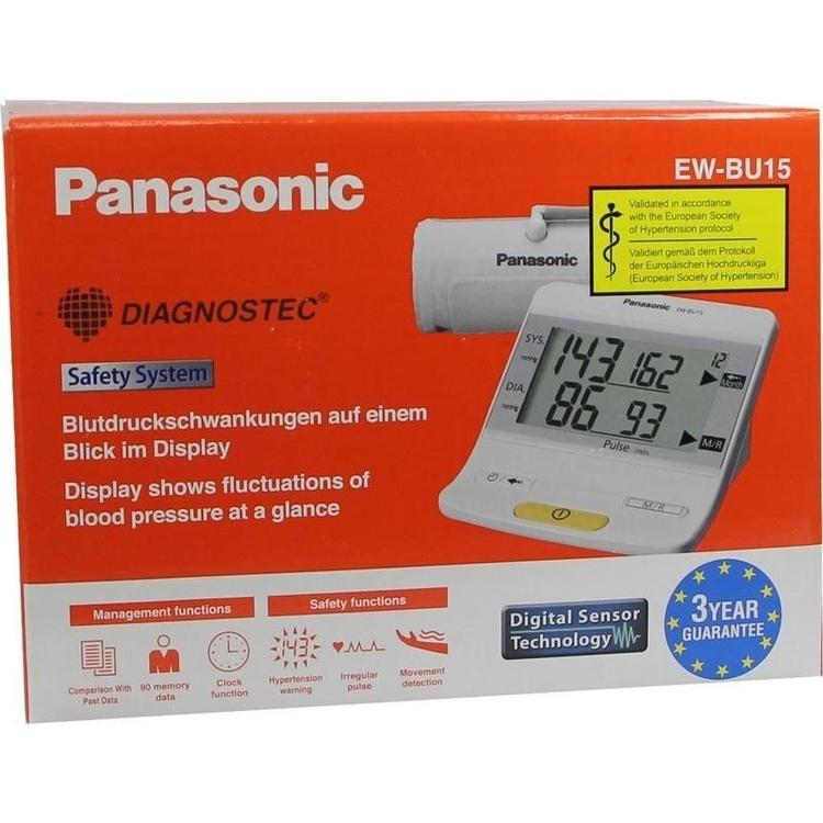 Zoom Panasonic Ew-Bu15 Oberarm Blutdruckmesser