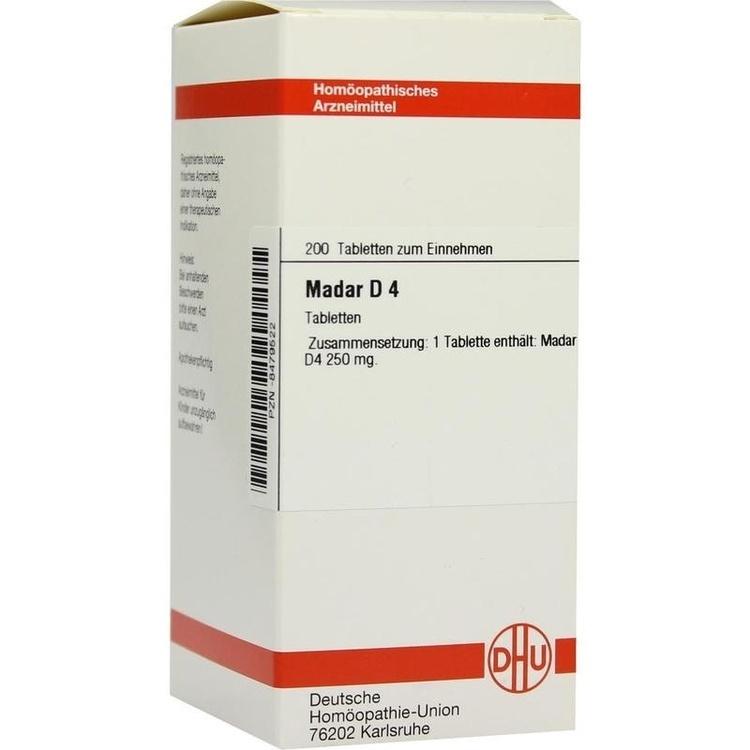 Zoom Madar D 4  Tabletten