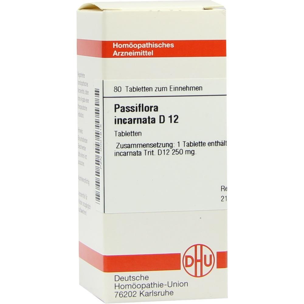PASSIFLORA INCARNATA D 12 Tabletten