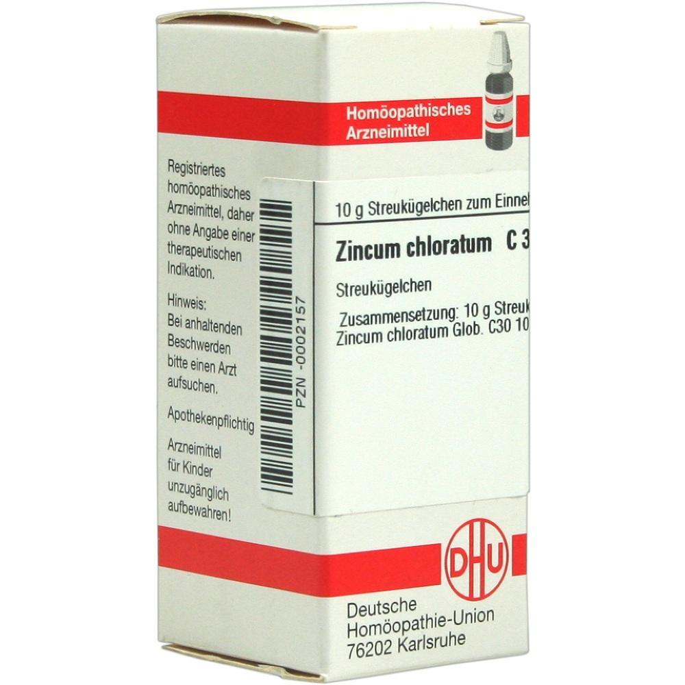 00002157, ZINCUM CHLORATUM C30, 10 G