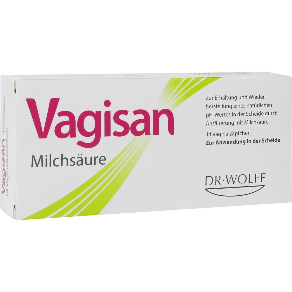 00003441, Vagisan Milchsäure Vaginalzäpfchen, 14 ST