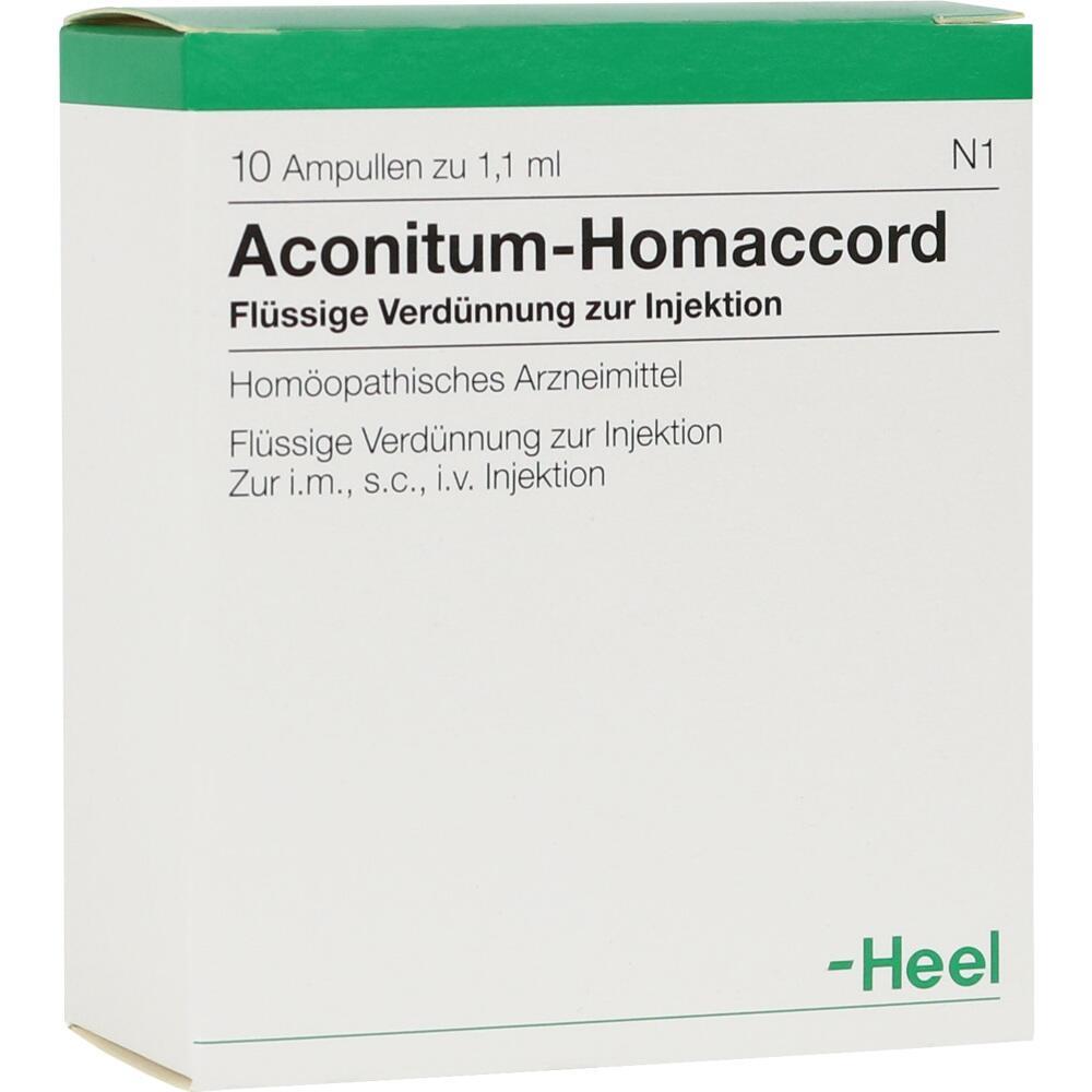 00010375, ACONITUM HOMACCORD, 10 ST