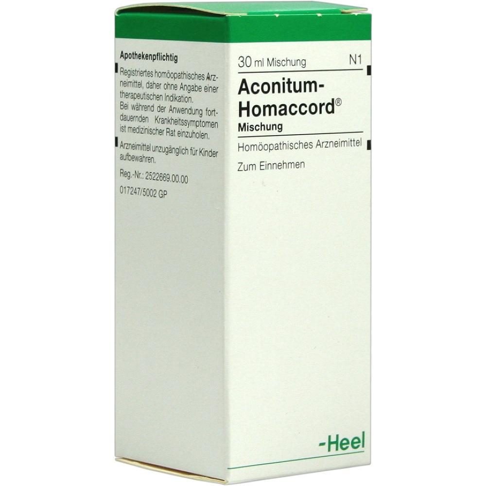 00010412, ACONITUM HOMACCORD, 30 ML