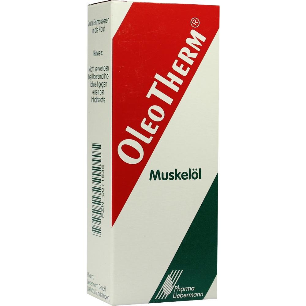00011535, OleoTherm Muskelöl, 50 ML