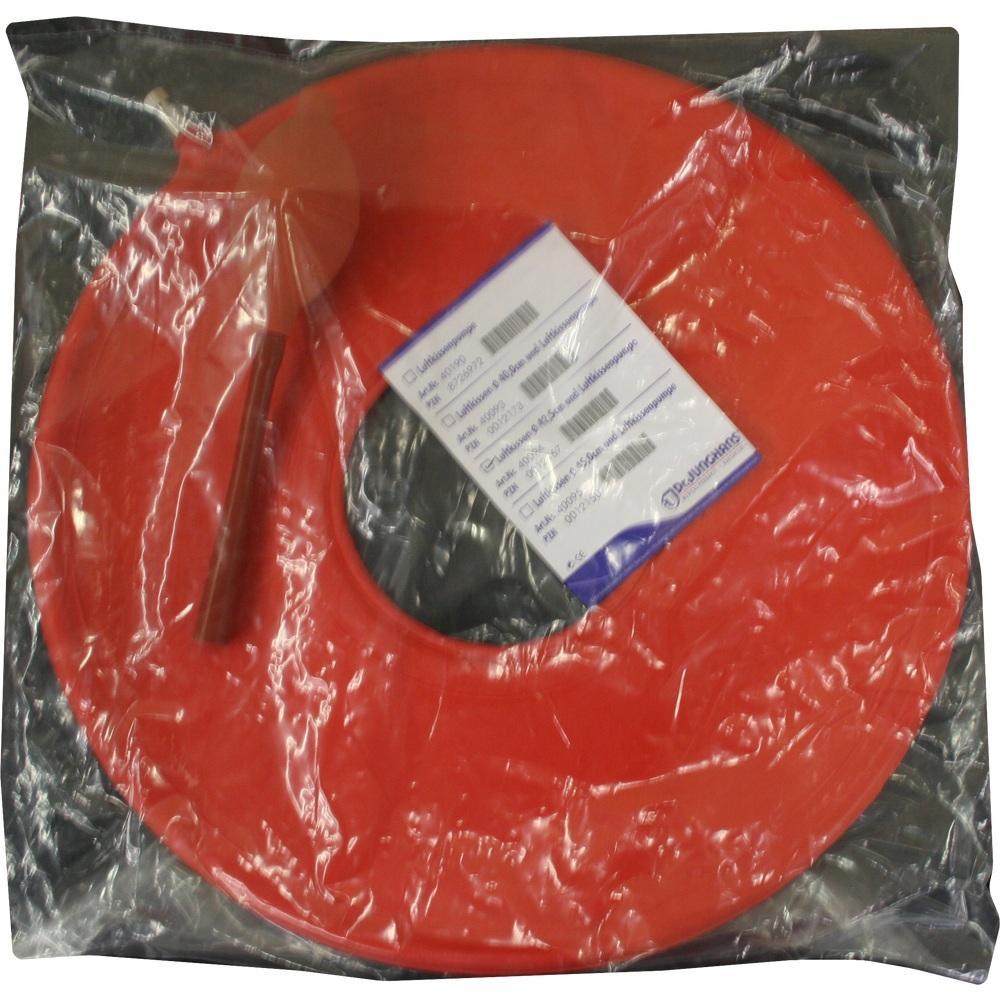 00012167, Luftkissen-Set Gummi 42.5cm mit Luftpumpe, 1 ST