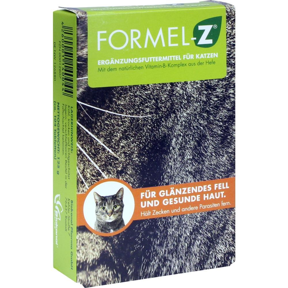 00012807, Formel Z für Katzen, 125 G