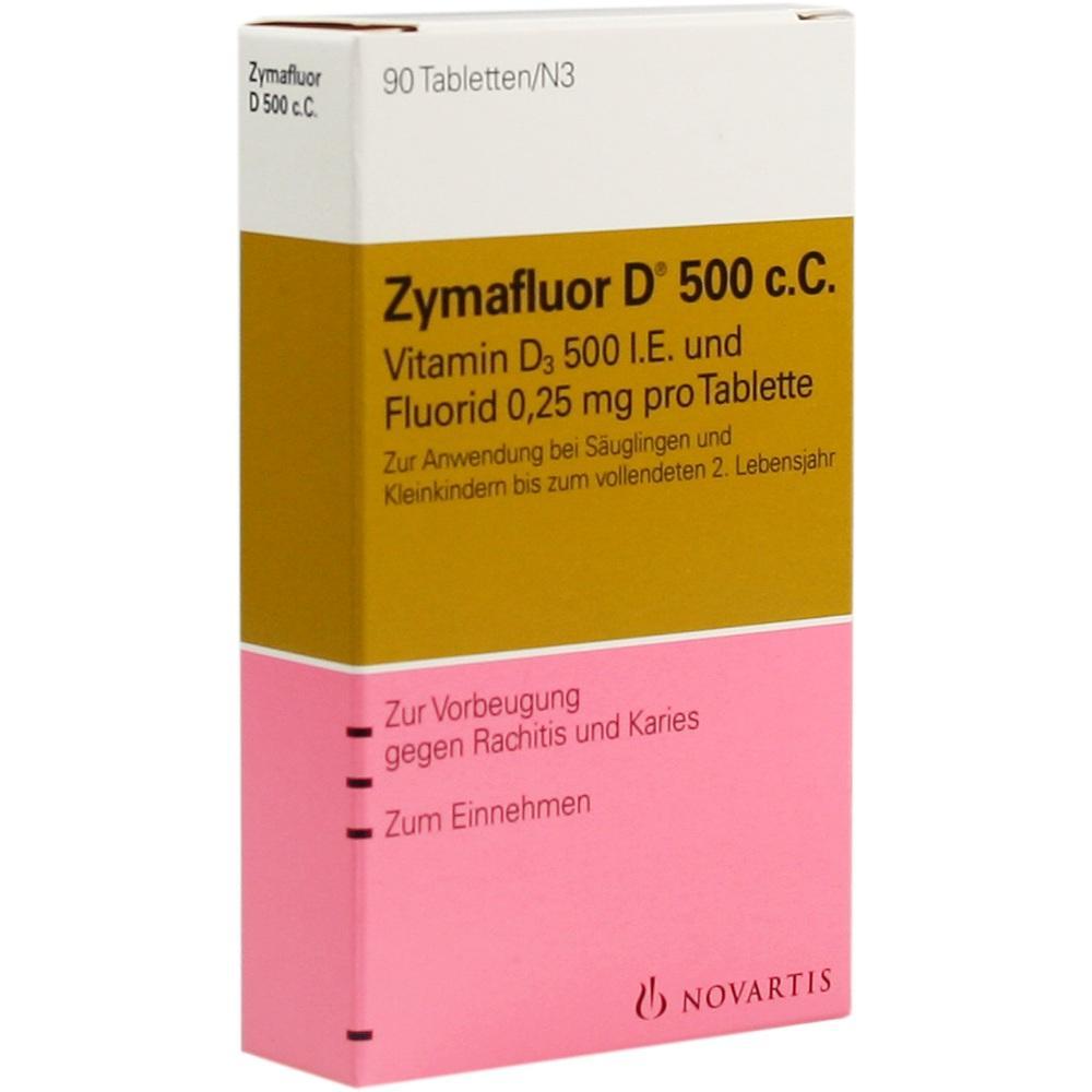 00014901, Zymafluor D 500 c.C., 90 ST
