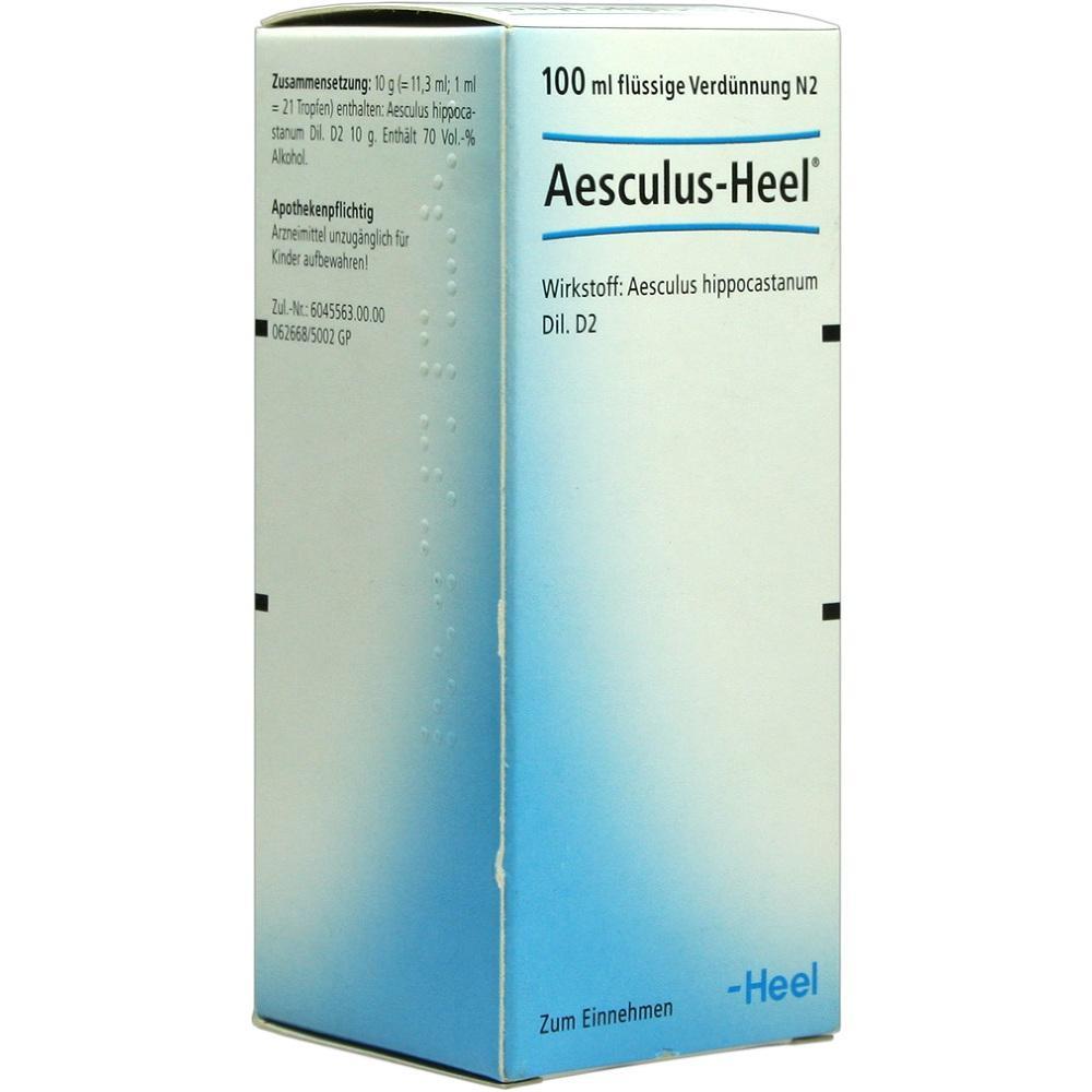 00017549, AESCULUS HEEL, 100 ML