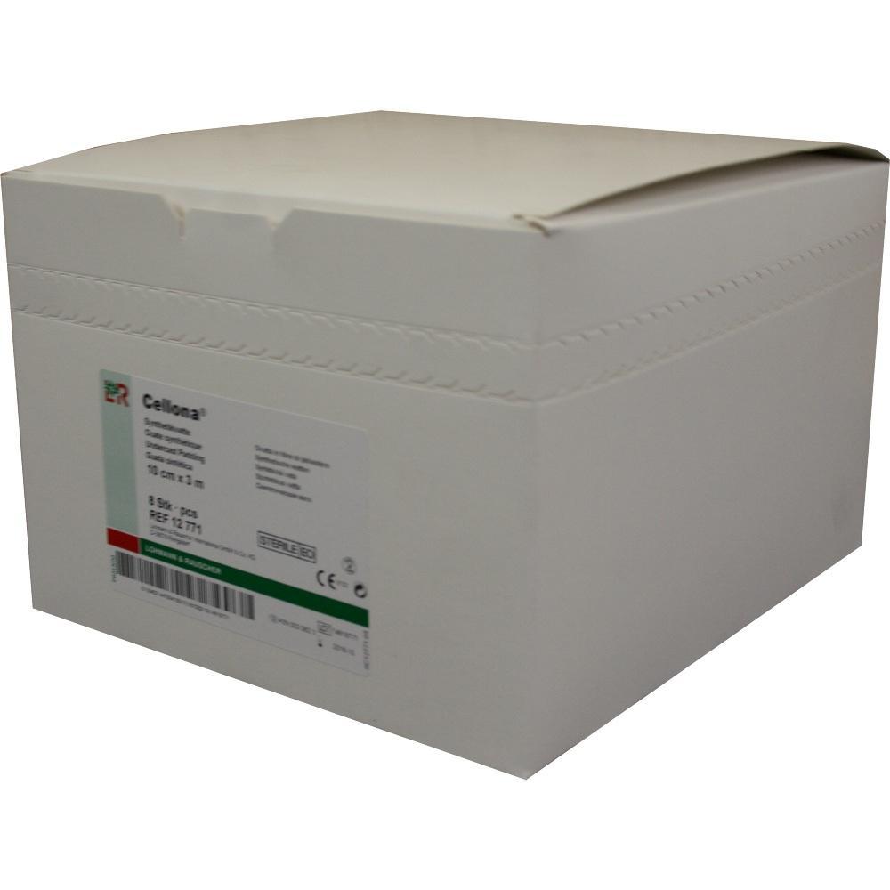 00020623, Cellona Synthetikwatte steril 10cmx3m, 8 ST