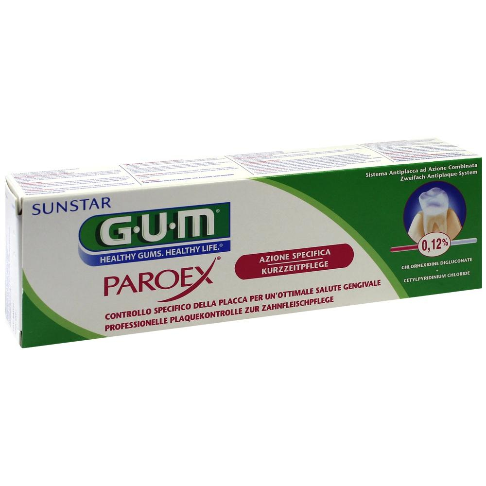 00024012, GUM Paroex 0.12% CHX Zahngel, 75 ML