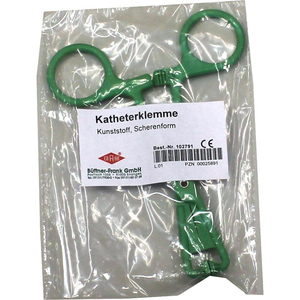 00025891, Katheterklemme KST Scherenform, 1 ST