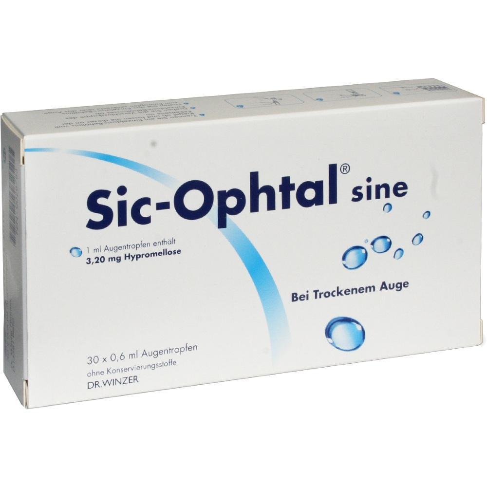 00028783, Sic-Ophtal sine, 30X0.6 ML