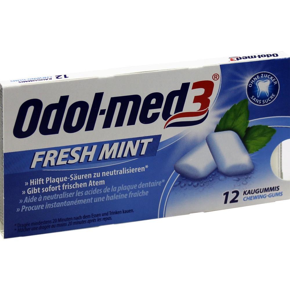 00034157, Odol med 3 Fresh Mint, 12 ST