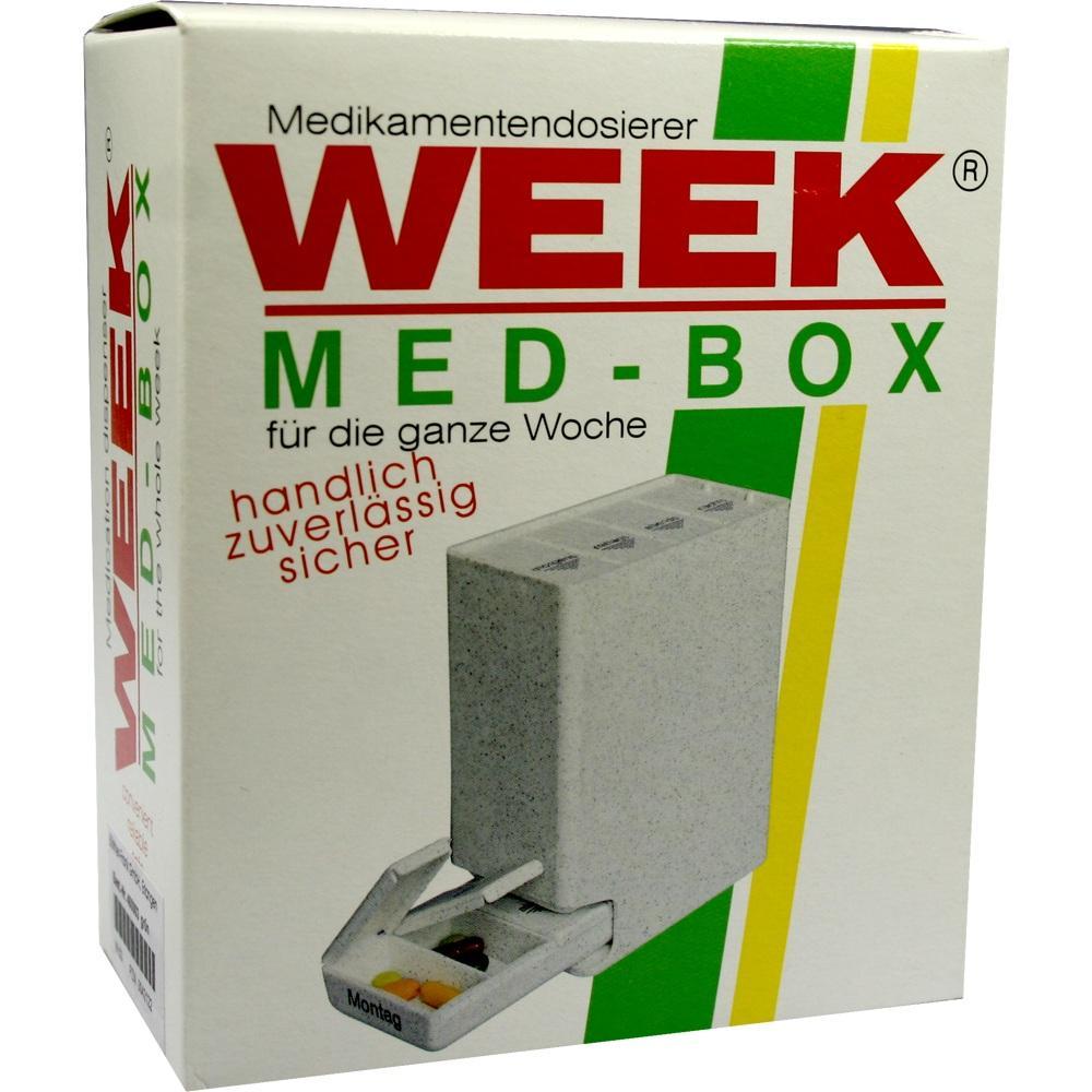 00042122, Medikamenten-Dispenser grün, 1 ST