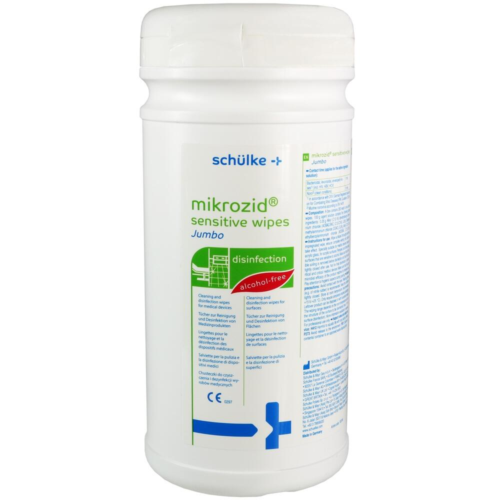 00046574, Mikrozid Sensitive Wipes, 200 ST