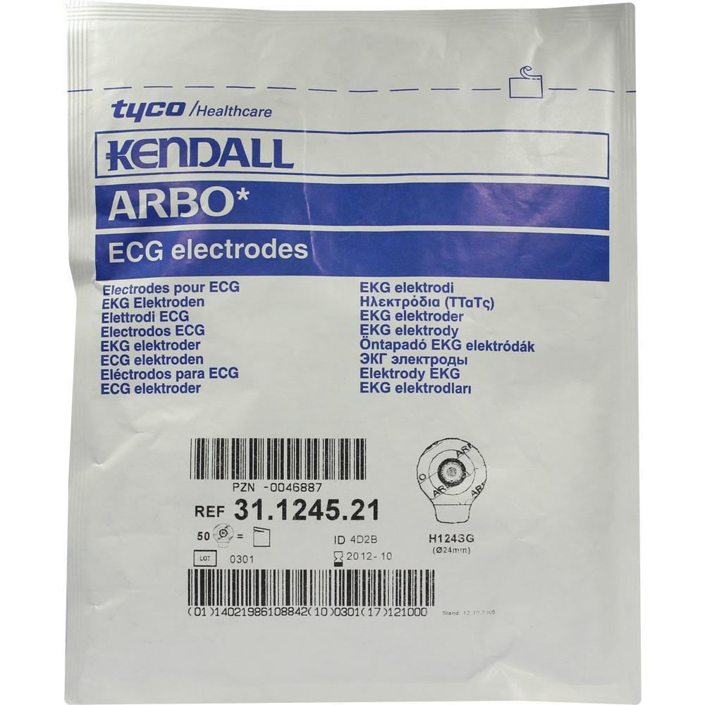 00046887, Elektr Erw.u.Paed.H124SG Dr k Hydr 24 Ag/AgCl Sch, 50 ST
