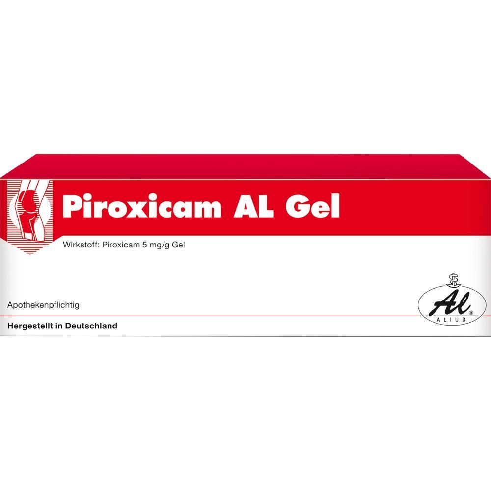 00050972, Piroxicam AL Gel, 50 G
