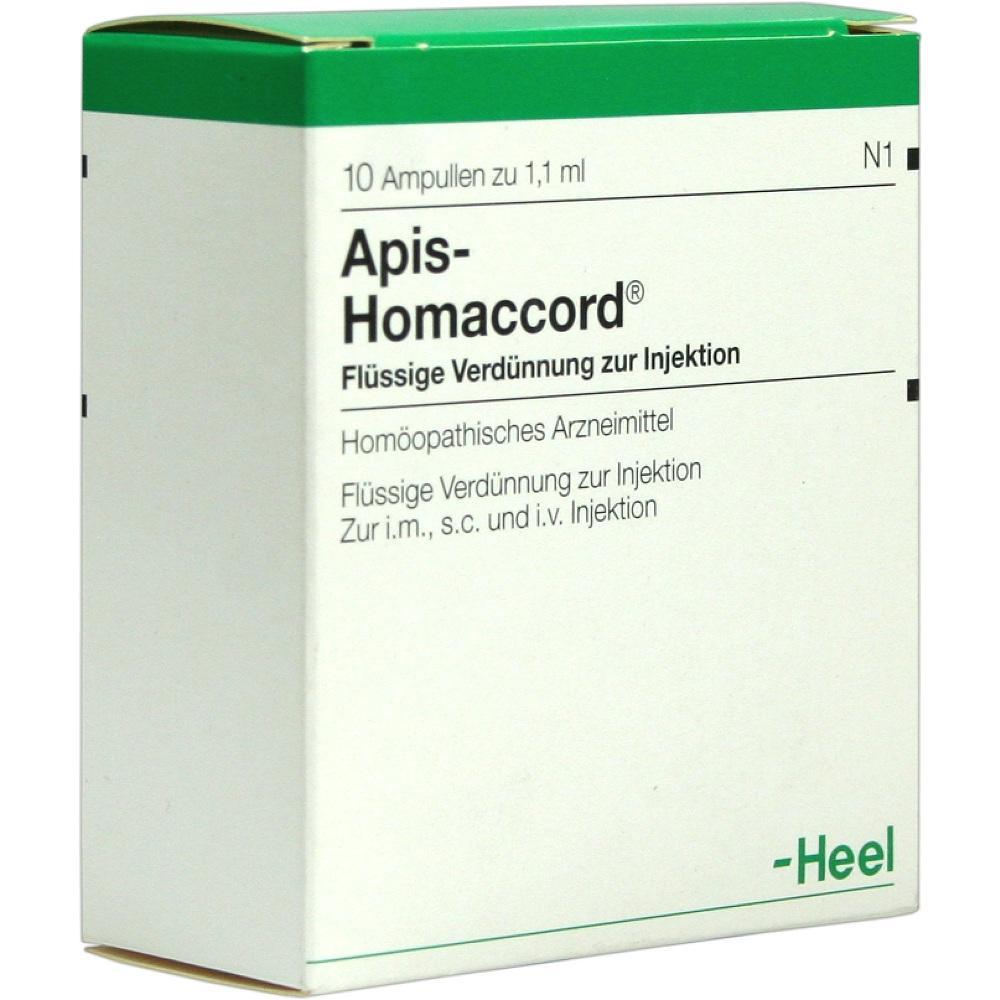 00059476, APIS HOMACCORD, 10 ST