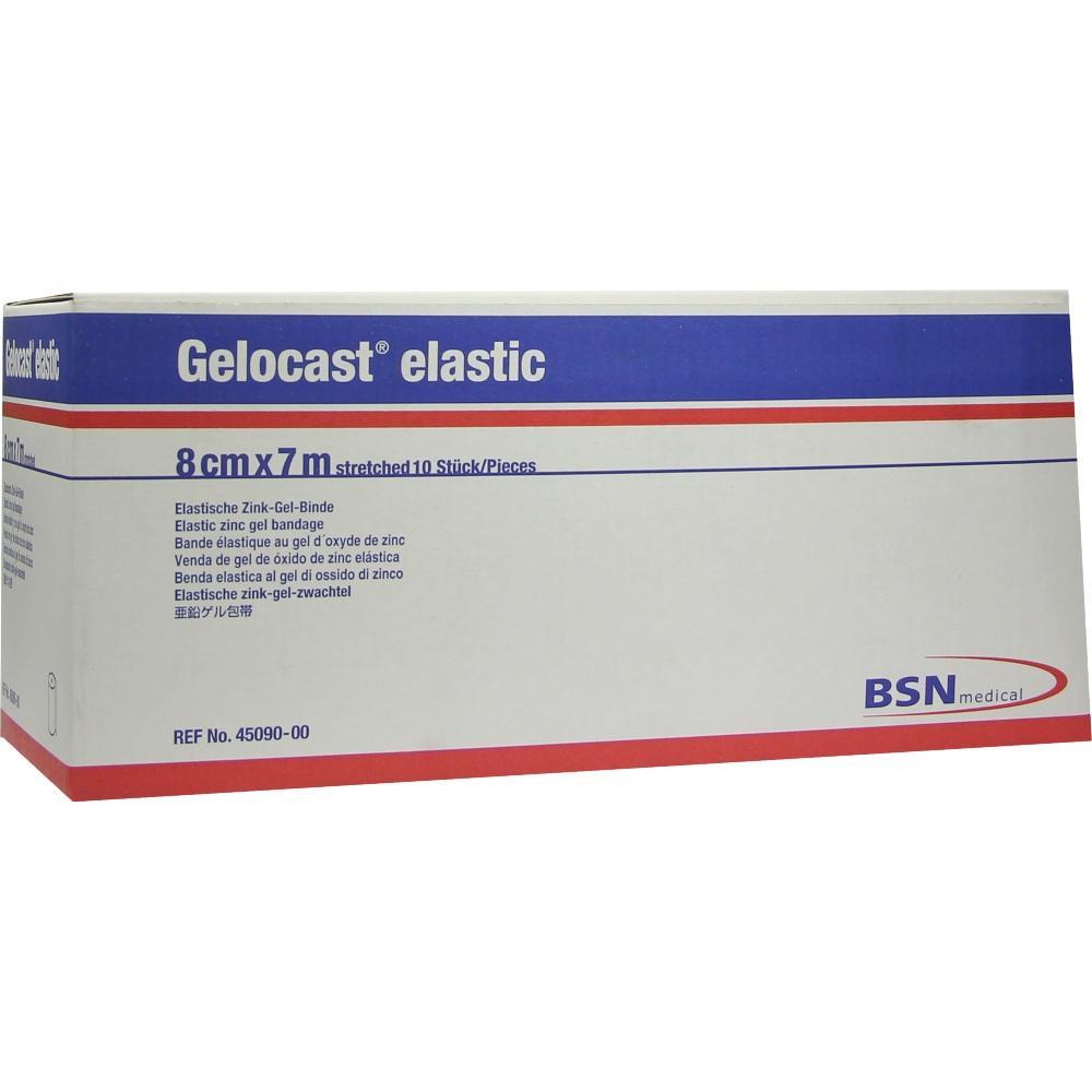 00062521, Gelocast elastic 8cmx7m Zink-Gel-Binde, 10 ST