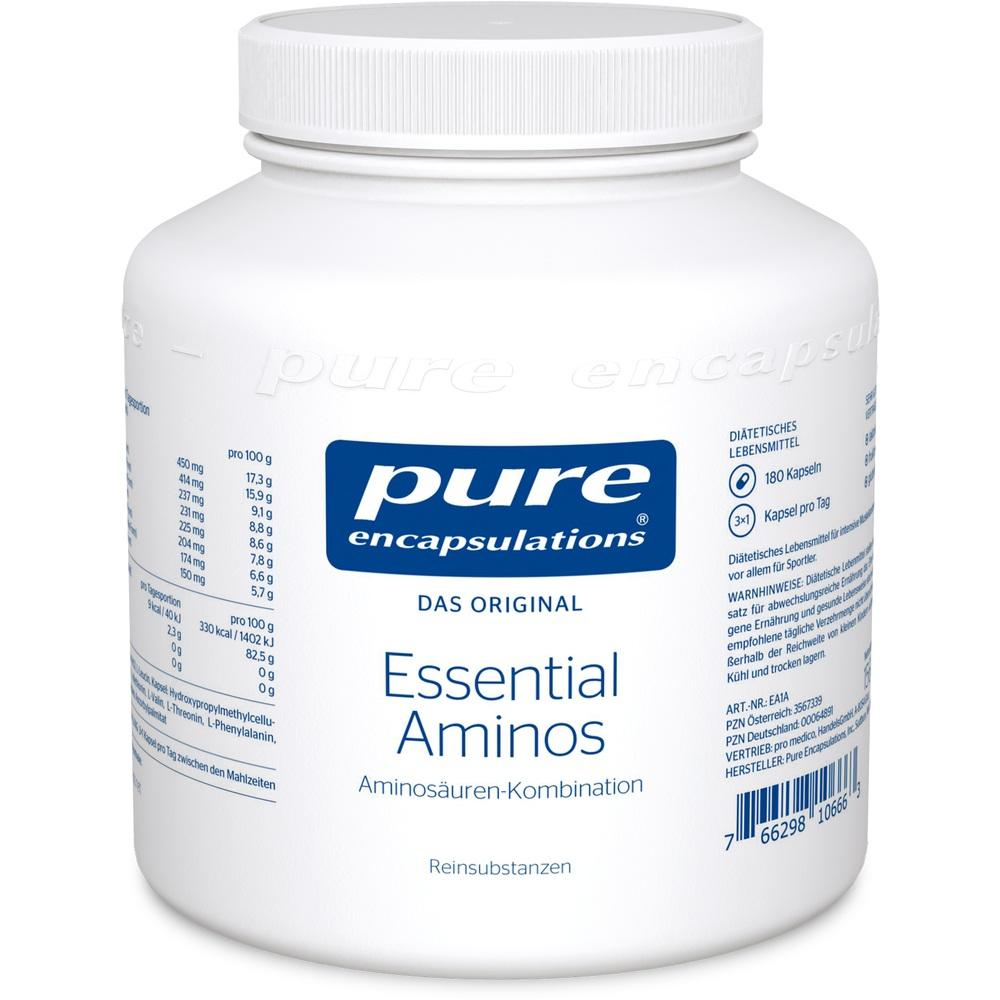 00064891, Pure Encapsulations Essential Aminos, 180 ST