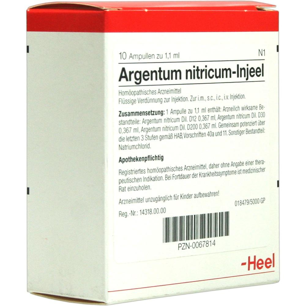 00067814, ARGENTUM NITR INJ, 10 ST