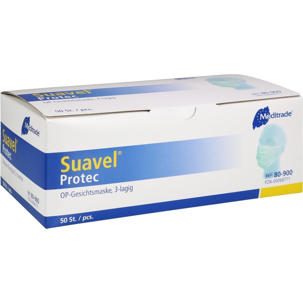 00068771, Protec OP-/Dentalmaske, 50 ST