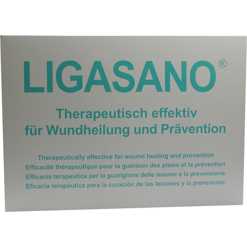 00070934, Ligasano weiß sterile Kompressen 15x10x2cm, 10 ST