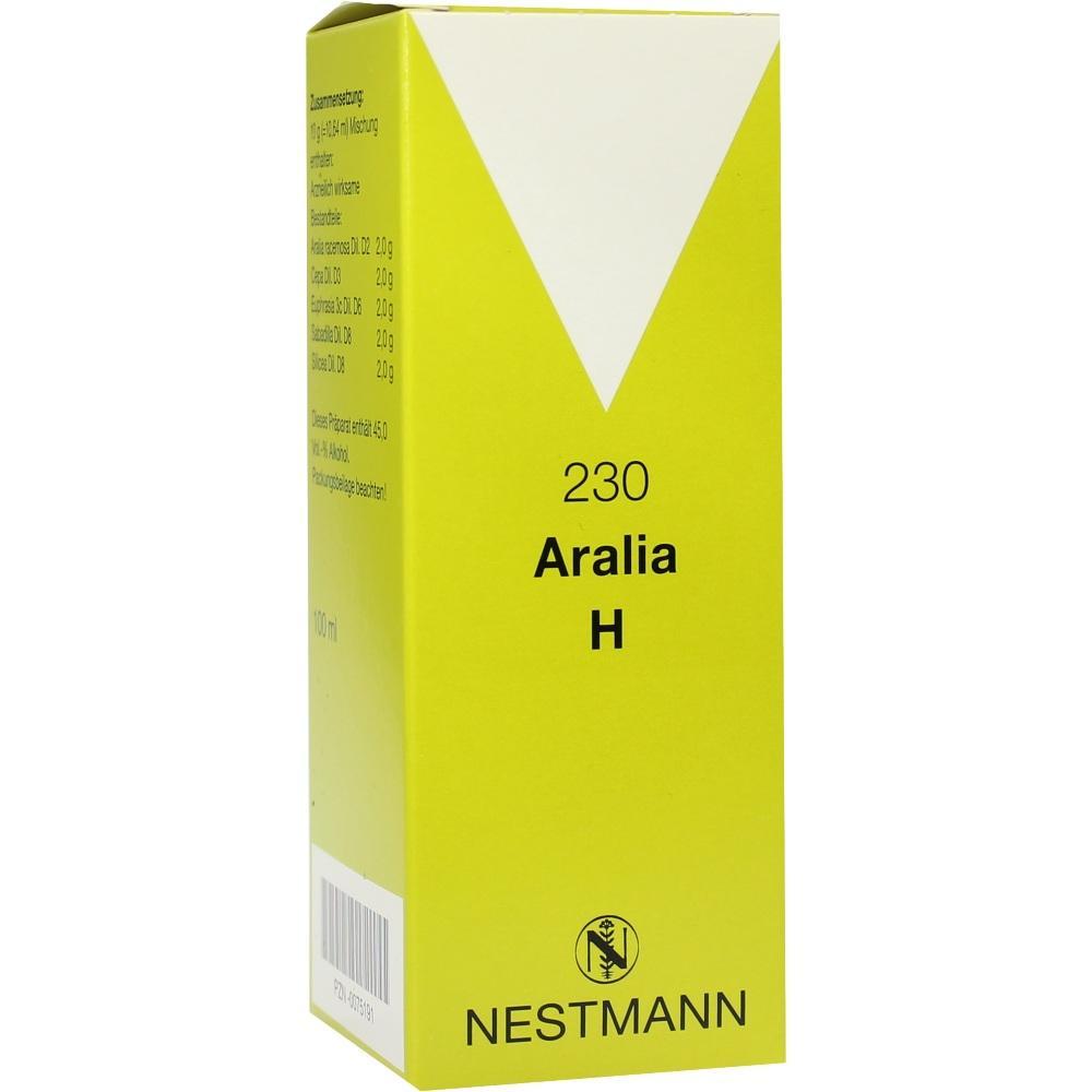 00075191, Aralia H 230 Nestmann, 100 ML