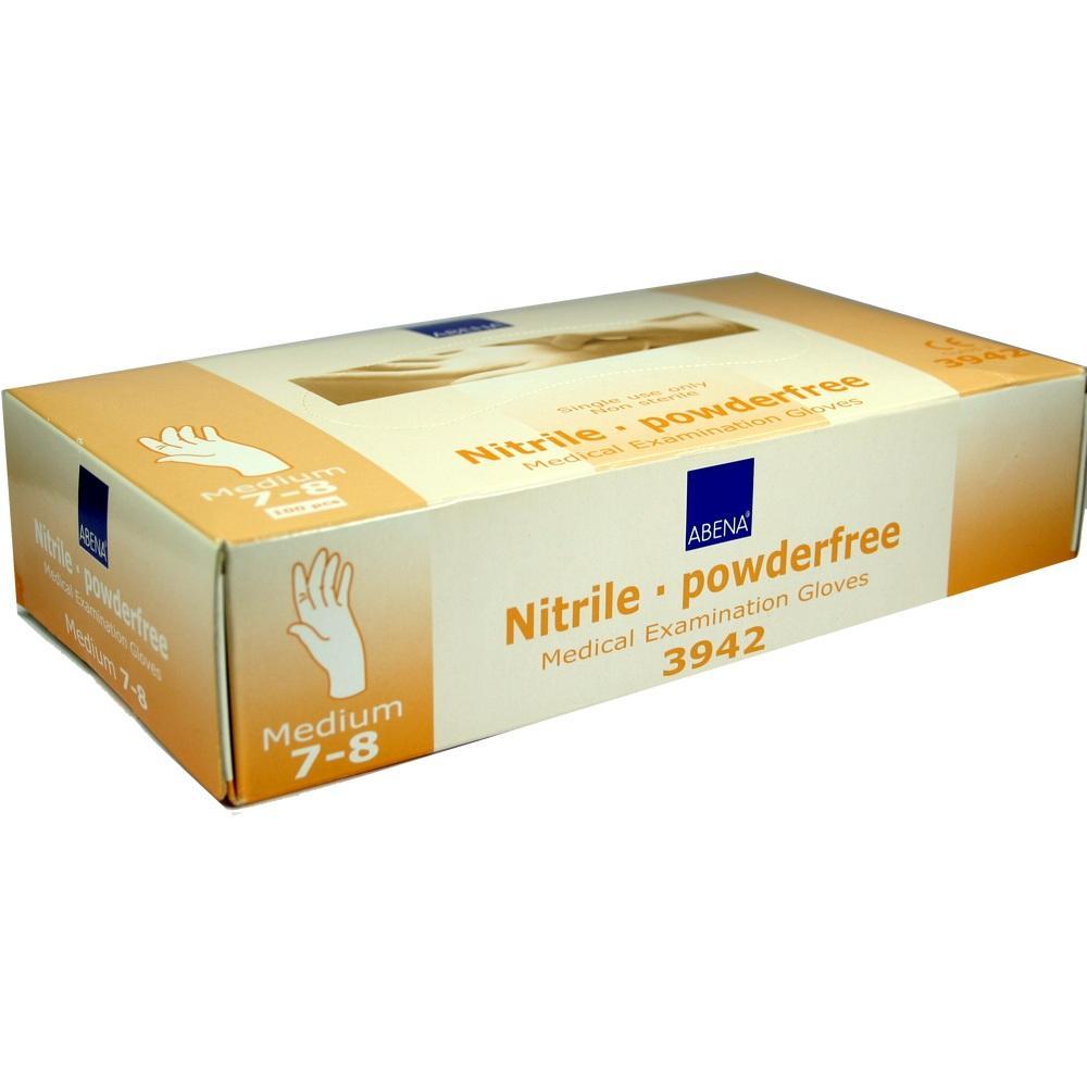 00080861, Nitril-Handschuhe Medium puderfrei, 100 ST