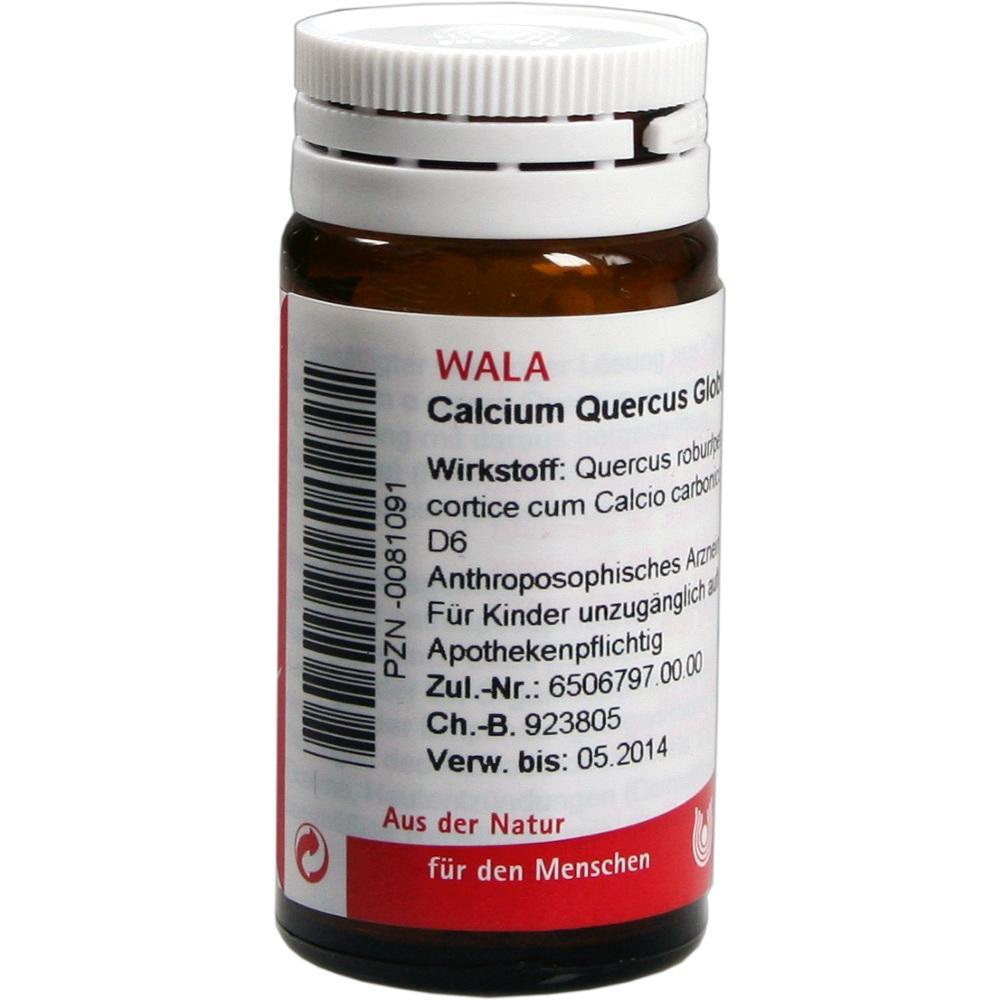 00081091, Calcium Quercus Globuli velati, 20 G