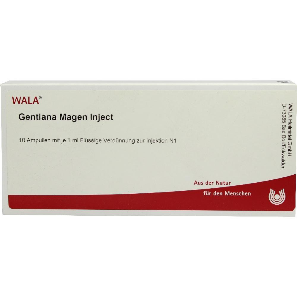 00081398, Gentiana Magen Inject, 10X1 ML