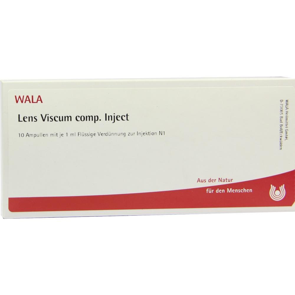 00081530, Lens Viscum comp. Inject, 10X1 ML