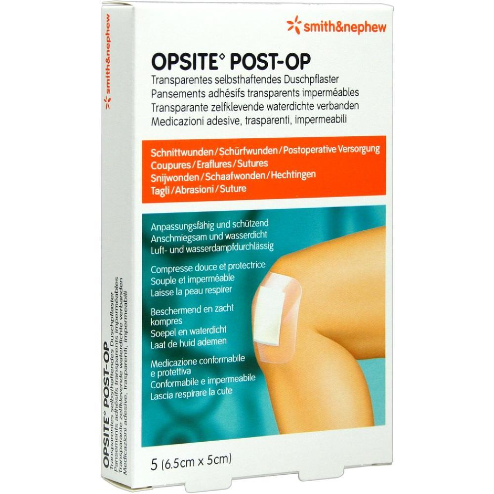 00081702, OpSite Post Op 6.5x5cm, 5 ST