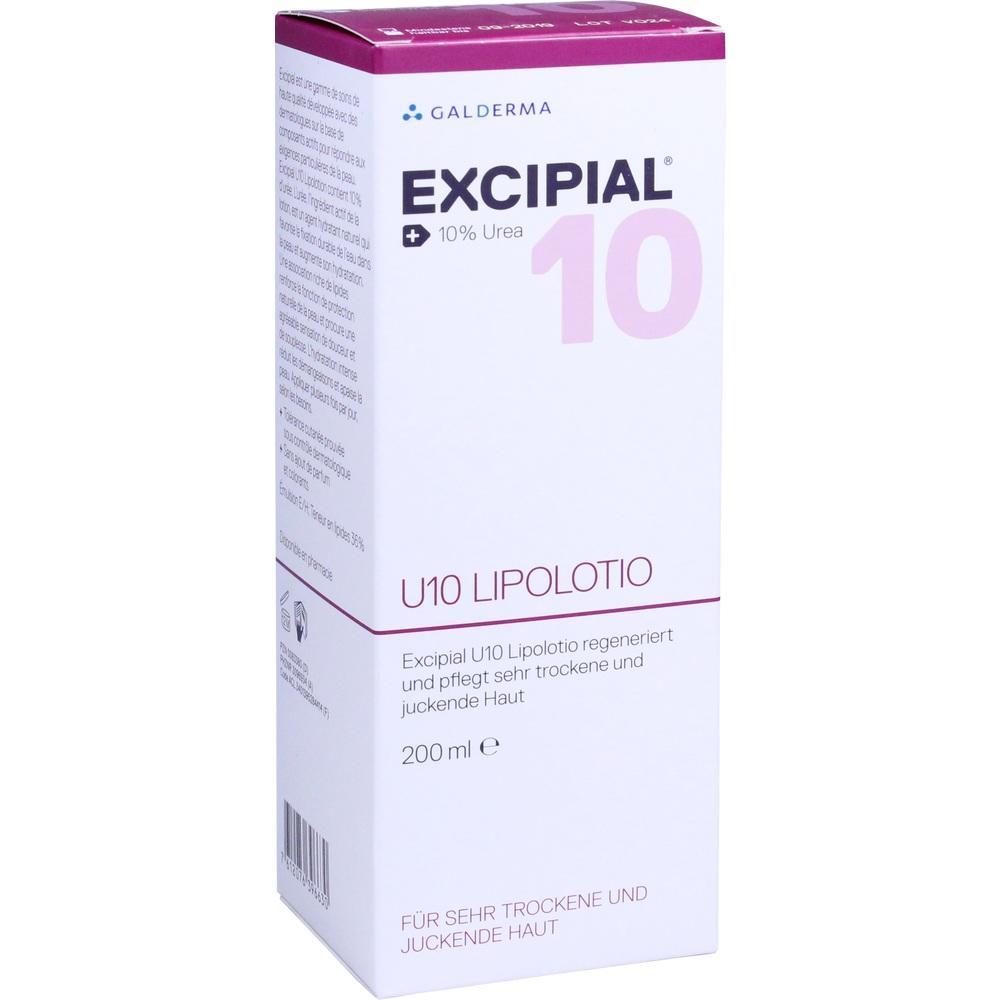 00083380, Excipial U10 Lipolotio, 200 ML