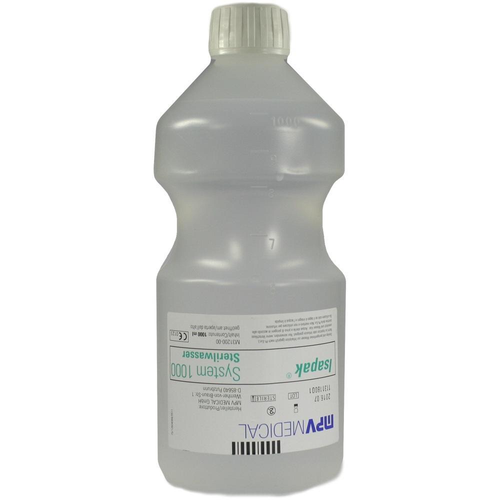 00087998, Isapak System 1000 Sterilwasser, 1X1000 ML
